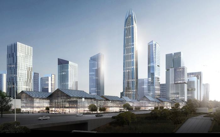 城市原點上的煥新 石家莊中央商務區建設加速推進