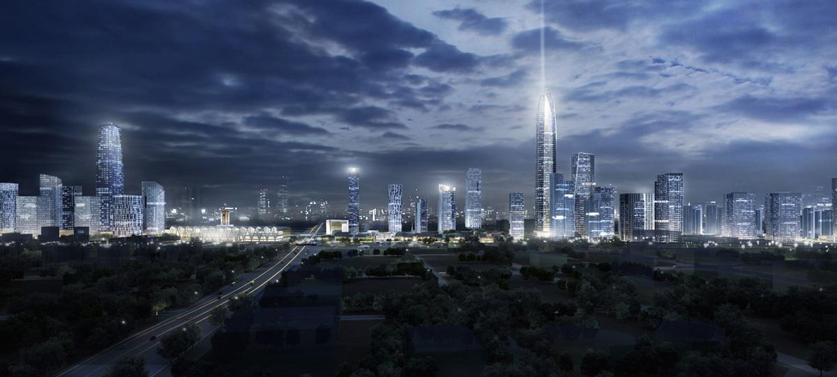 石家莊中央商務區的南區和北區,將分別以金融和智慧為核心進行建設,帶動産業經濟集聚