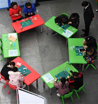 山西太原:科技館裏樂享假期