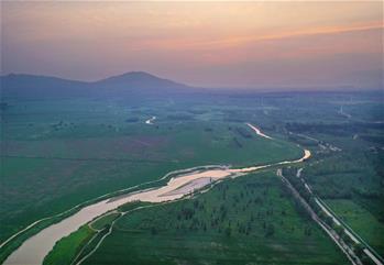 建國家濕地公園 保一湖清水進京