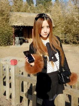 數碼模特Angel帶你走龍潭公園