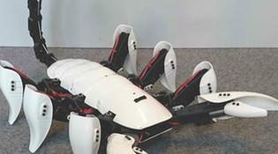 猴賽雷!大學生3D打印六足蝎子機器人