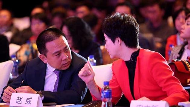 華夏幸福産業發展集團總裁趙威、《英才》雜志社社長宋立新現場交流