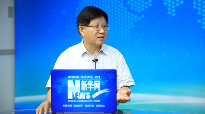 中央黨校原副校長李君如接受記者提問