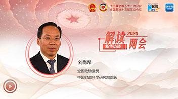 劉尚希談積極財政政策如何更加積極有為