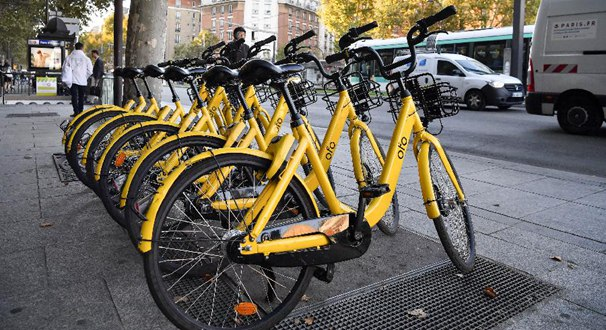 ofo與巴黎大眾運輸公司合作助力市民綠色出行