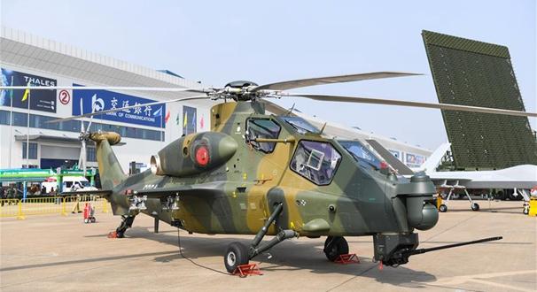 中國空軍盛裝亮相中國航展