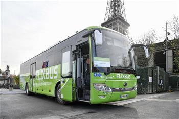 中國電動客車進入法國長途客運市場