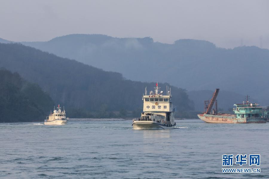 牛年首巡!第102次湄公河联合巡逻执法正式启航