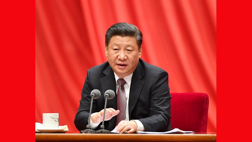 習近平在十八屆中央紀委七次全會上發表重要講話