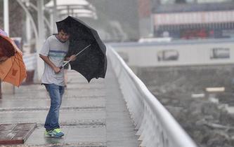 深圳市臺風預警升級為黃色