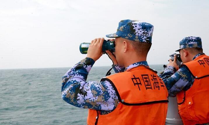 駐港部隊出動海空編隊參加香港海上空難搜救演練