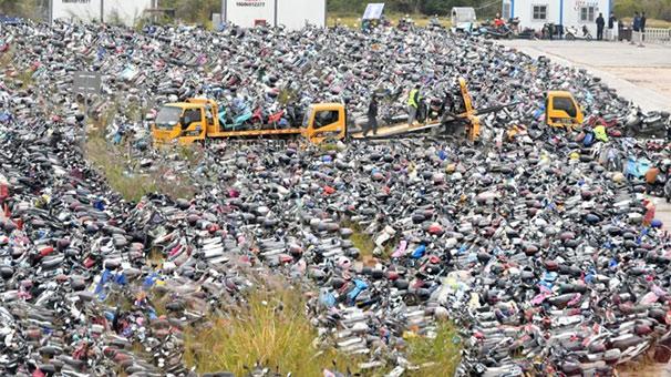福州暫扣超標電動車2.2萬輛