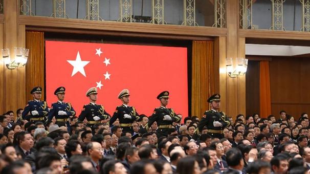 十三屆全國人大一次會議憲法宣誓儀式舉行