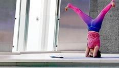 體驗高空瑜伽