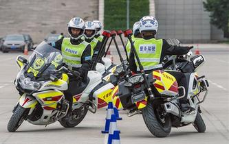 中國人民公安大學設立摩托車警務駕駛課程