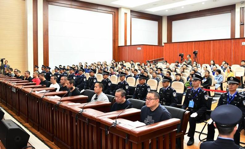 孫小果出獄後組織、領導黑社會性質組織等犯罪一案公開開庭審理