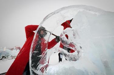 世界冰雕能手盡展酷寒之美