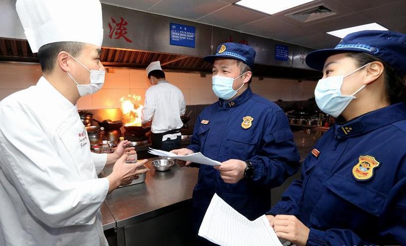 上海:复工复产 牢记消防安全