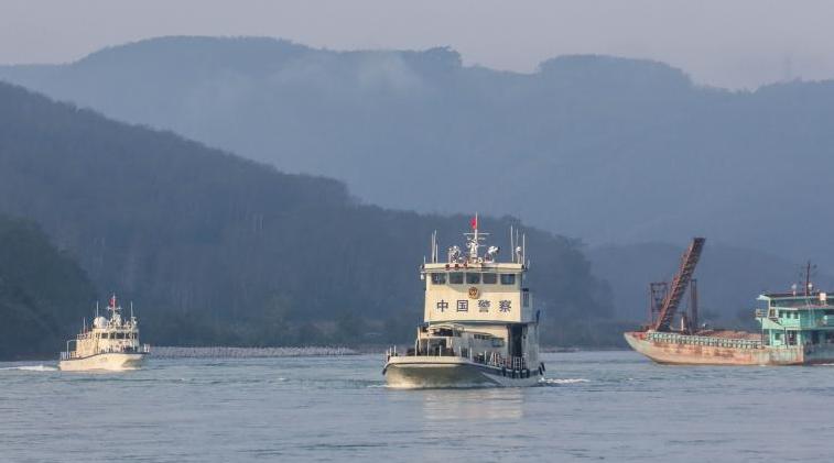 牛年首巡!第102次湄公河聯合巡邏執法啟航