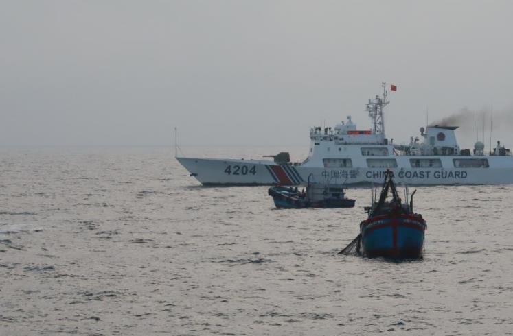 中越海警開展2021年第二次北部灣海域聯合巡航
