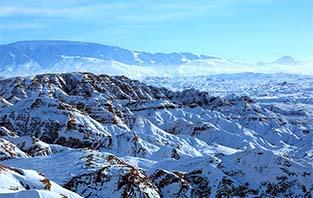 鏡頭帶你走進甘肅張掖平山湖大峽谷 雪後盡顯北國風光壯麗美景