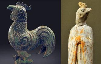 """神氣又神奇!考古專家帶你看文物裏的""""萌""""雞"""