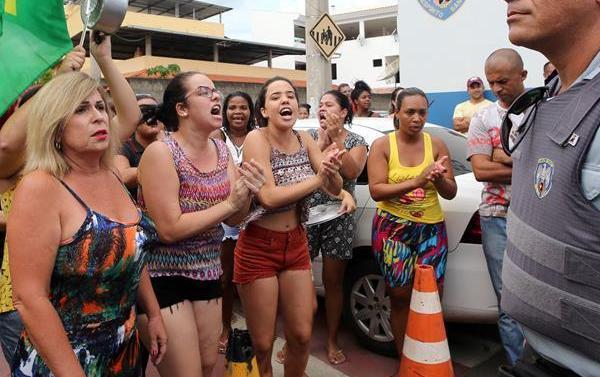 巴西南部軍警罷工致使治安惡化