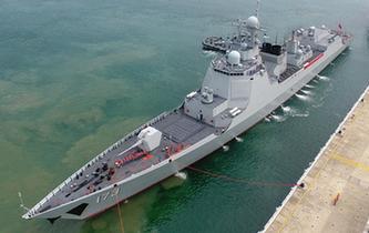海軍南海艦隊遠海訓練編隊圓滿完成任務返回三亞