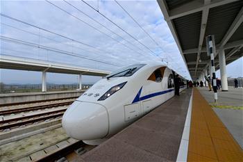 西成高鐵進入開通前的全面驗收階段