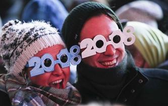 紐約時報廣場迎新年
