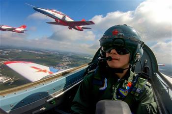 空軍航空開放活動實戰化演練砥礪新飛行學員制勝空天本領