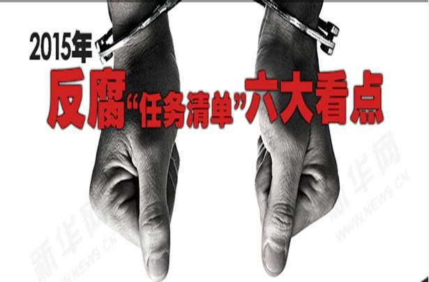 """2015年反腐""""任務清單""""六大看點"""