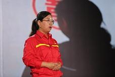 中國石油大港油田首席採油技師馮萌萌演講