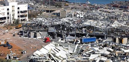 貝魯特港口區救援仍在進行 黎巴嫩政府宣布貝魯特實施緊急狀態