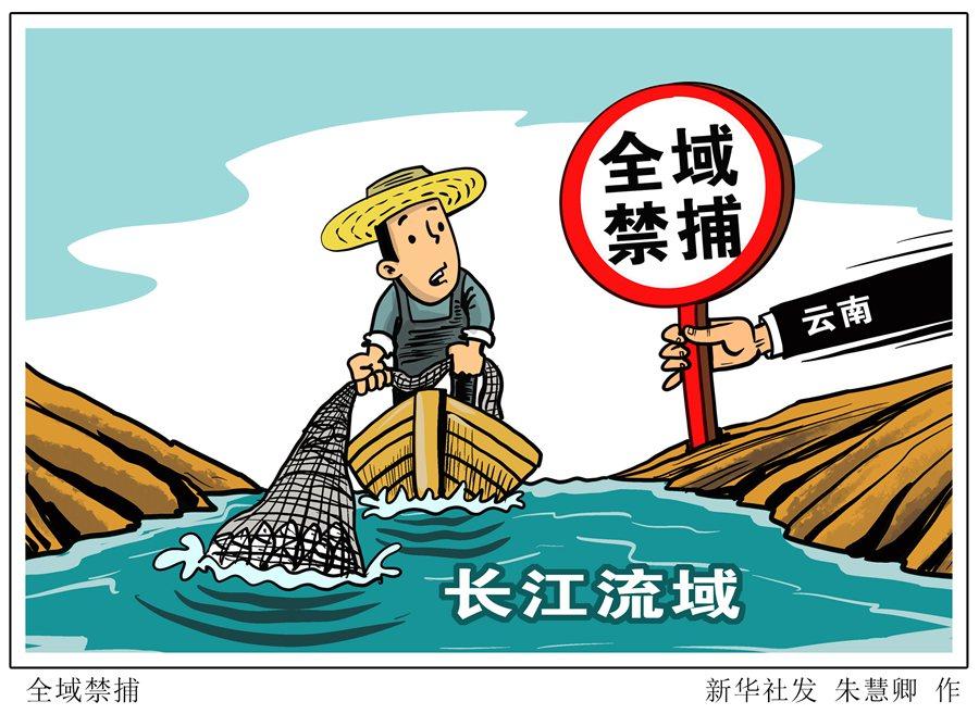 云南在长江流域实现全域禁捕