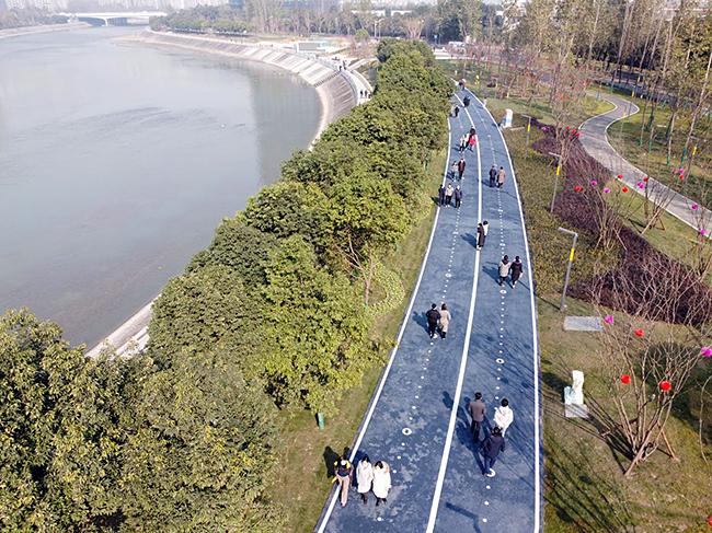 """""""打造""""公园城市""""锦江模式 抒写水生态文明建设新答卷"""