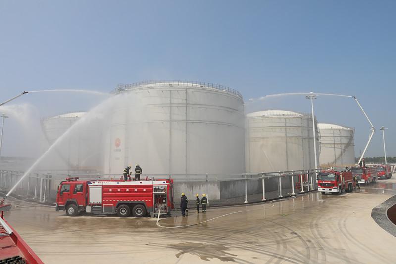 :辽阳市消防救援支队组织开展石油化工火灾灭火救援实战联合演练