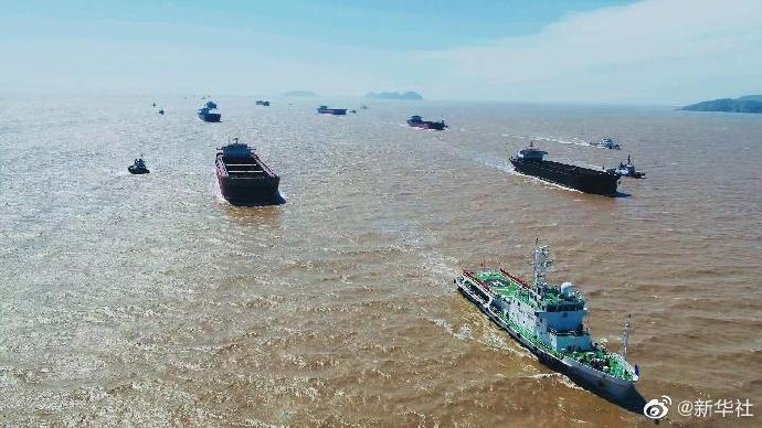 长三角首次集中遣返涉海非法运输内河船