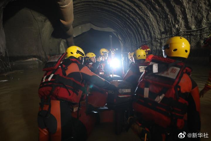 截至7月16日12时 珠海透水事故救援作业面已推进395.3米