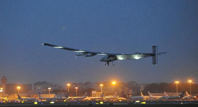 世界最大太阳能飞机阳光动力2号再度启程