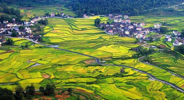 中国有名的地方的风景