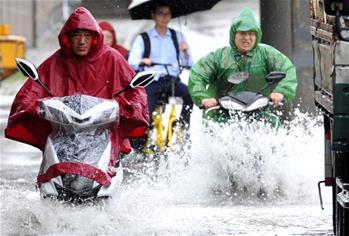 暴雨襲南京