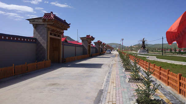"""甘肅碌曲尕秀村:打造環境革命升級版""""樣板村"""""""