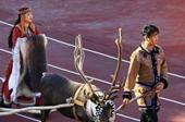 """中國""""最後的狩獵部落"""":帶著馴鹿參加運動會是怎樣的體驗"""