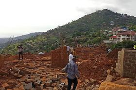 塞拉利昂首都洪水和泥石流災害造成至少300人遇難