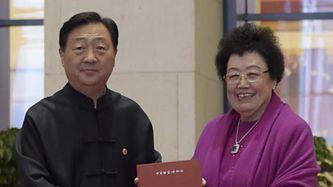 柚木貼金天壇祈年殿模型入藏中國國家博物館