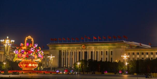 夜色璀璨 北京開啟最美夜景