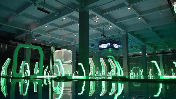天津:無人機競速場館落成亮相
