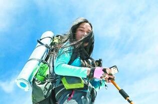 紀念母親完成母女約定 女生28個月登頂30座山峰